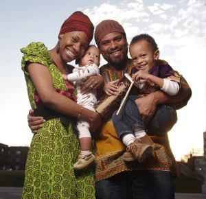 Sha Cage, E.G. Bailey and family